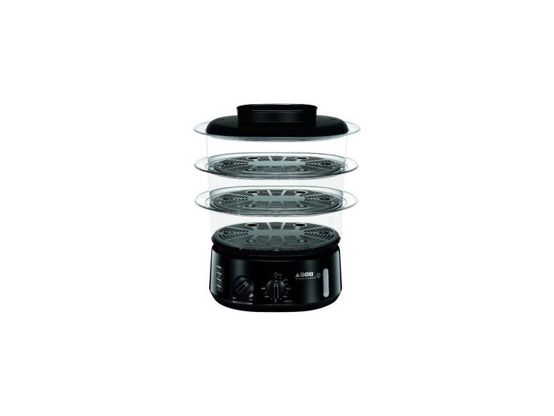 Seb vc110800 - cuiseur vapeur simply invents 3 bols - noir SEBVC110800