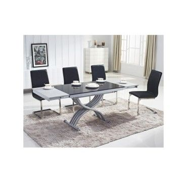 Table basse relevable reality verre noir vente de ego for Conforama table basse relevable