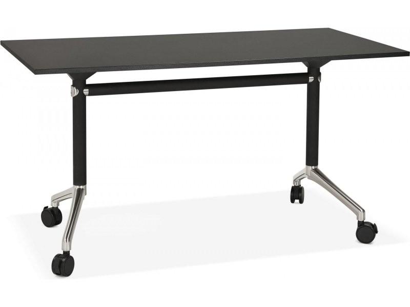 Bureau design avec tablette pliable helpe OT00830BL