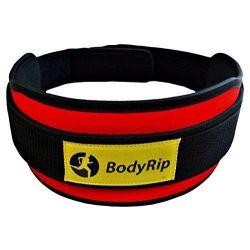 BodyRip Poids Ceinture de levage en néoprène-Rouge, Grand