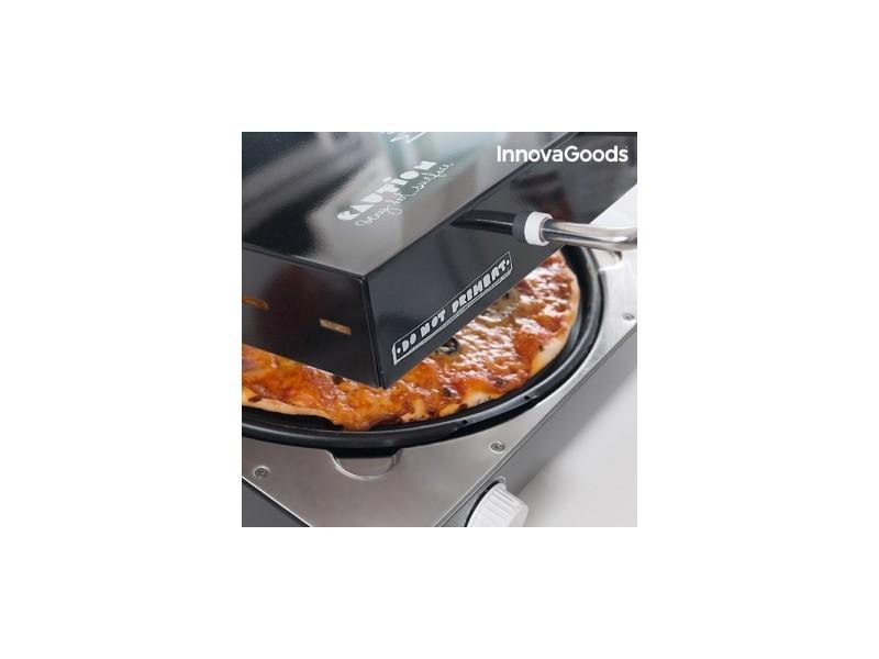 Appareil à Pizza Électrique avec Livre de Recettes Presto InnovaGoods 1200W