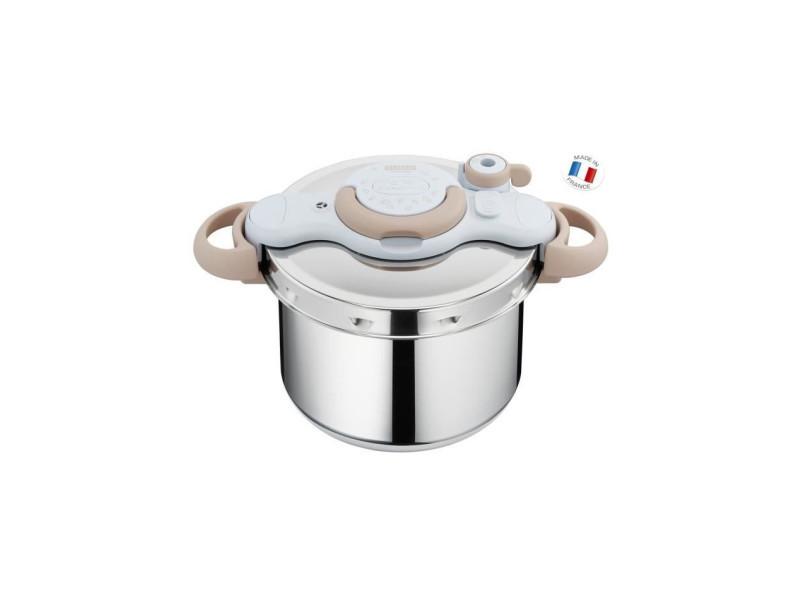 Seb p4624870 autocuiseur cocotte minute clipsominut - capacite 7,5l - acier inoxydable recyclable a 90 % - fabrique en france SEBP4624870