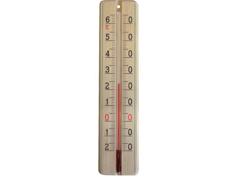 Stil - thermomètre en bois -20°/+65°c BD-404976