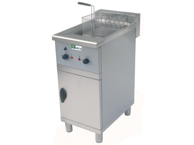 Friteuse sur meuble electrique 3 puissances - 16 litres - afi collin lucy -