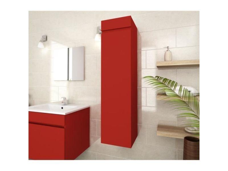 Colonne de salle de bain armoire de salle de bain luna - Meuble colonne salle de bain conforama ...
