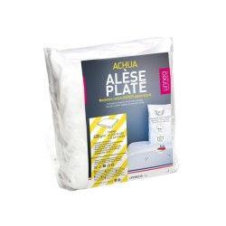 Alèse plate 70x140 cm achua  - molleton 100% coton 400 g/m2 , matelas 15cm maxi
