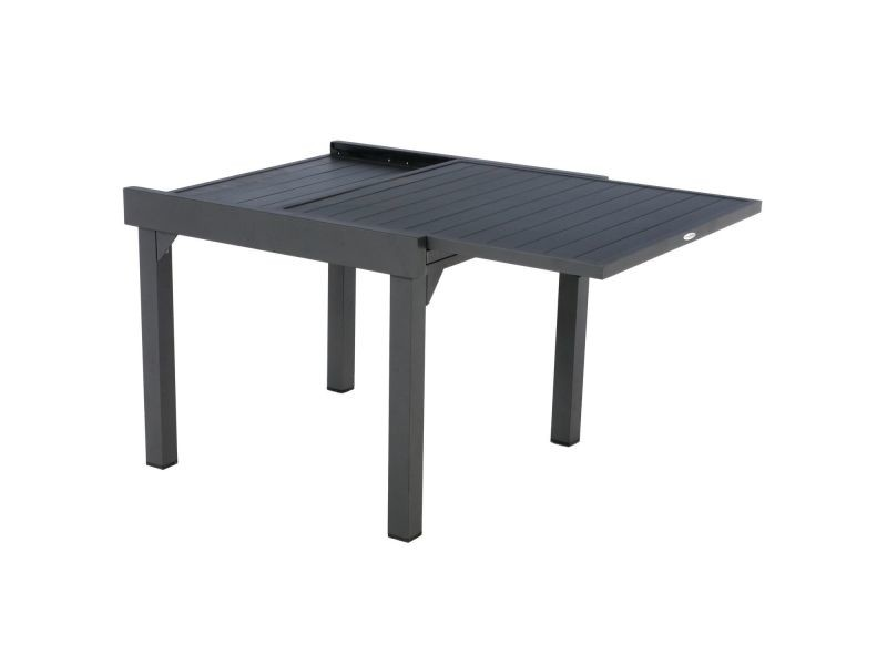 Table de jardin extensible 8 personnes piazza - l. 90/180 cm ...