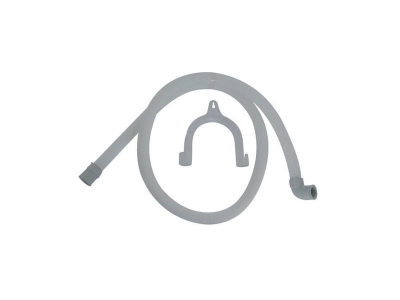 Tuyau vidange 2m droit coude avec crosse pour lave linge arthur martin - 5028435500