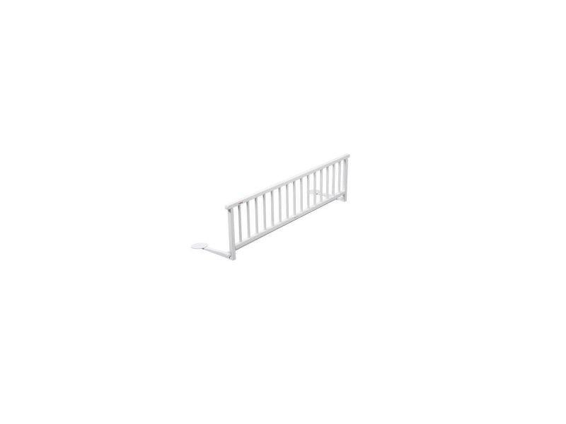 barriere de lit laque blanche conforama. Black Bedroom Furniture Sets. Home Design Ideas