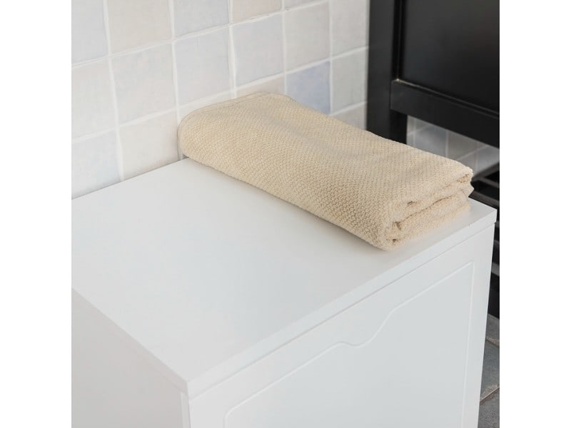 Banc de rangement salle de bain panier à linge meuble d\'entrée ...