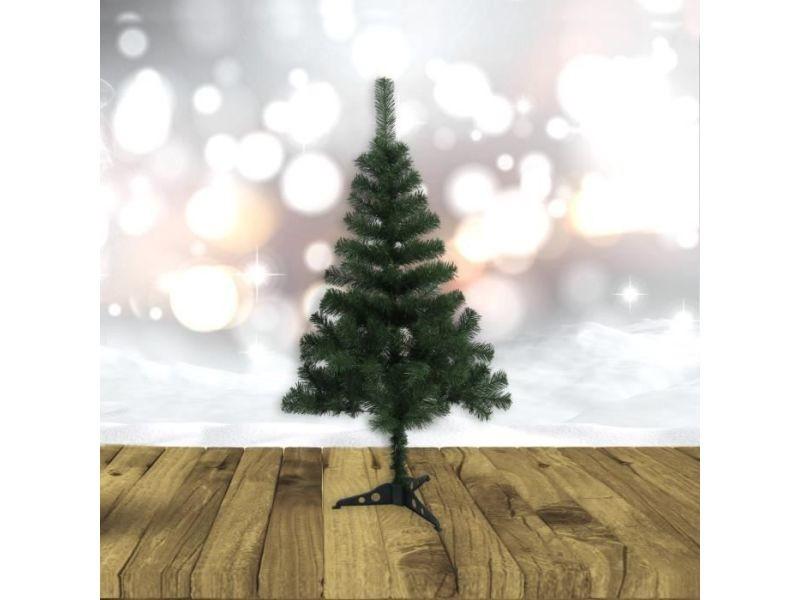 Sapin de noel - arbre de noel sapin de noël artificiel - 280 branches - ø 73 x h 150 cm - vert - avec pied