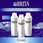 Lot de 3 filtres brita classic