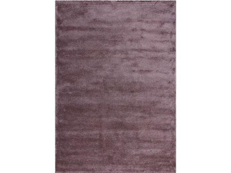 Tapis Tisse Sainte Lucie Castries Pastel Violette M7baw 160 230