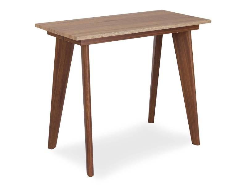 Table console extensible flavie bois sonoma