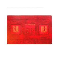 Set de table 28 x 44 cm transparent dido rouge