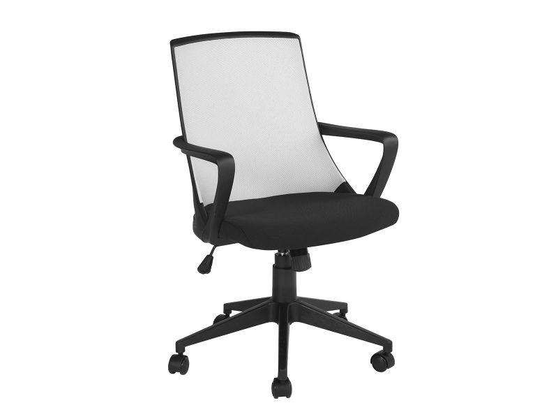 Thales fauteuil de bureau gris et noir vente de altobuy conforama