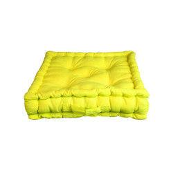 Coussin de sol pacifique anis 100% coton