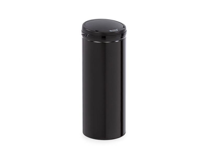 Klarstein cleanton 50 poubelle 50 litres avec capteur - couvercle abs noir KG15-CleantonB50l