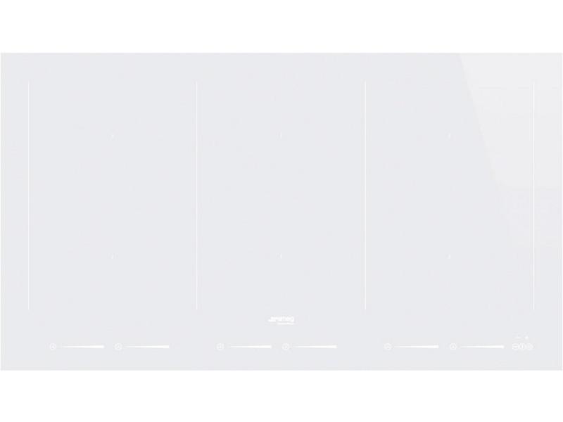 Table de cuisson induction 90cm 6 feux 10800w blanc - sim693dw sim693dw