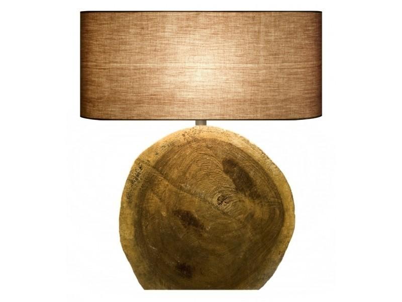 Lampe bois flotté circular vente de lampe de bureau conforama
