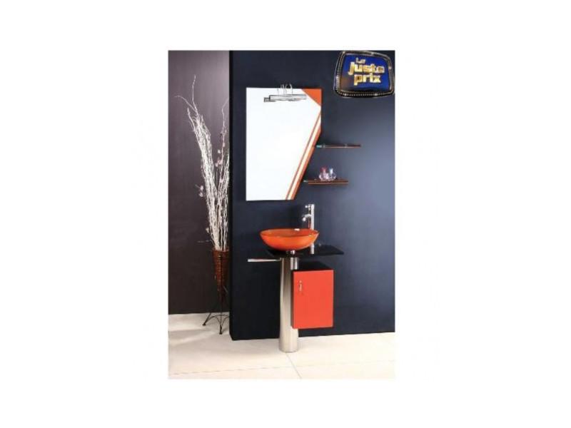 meuble de salle de bain manresa orange vente de azura