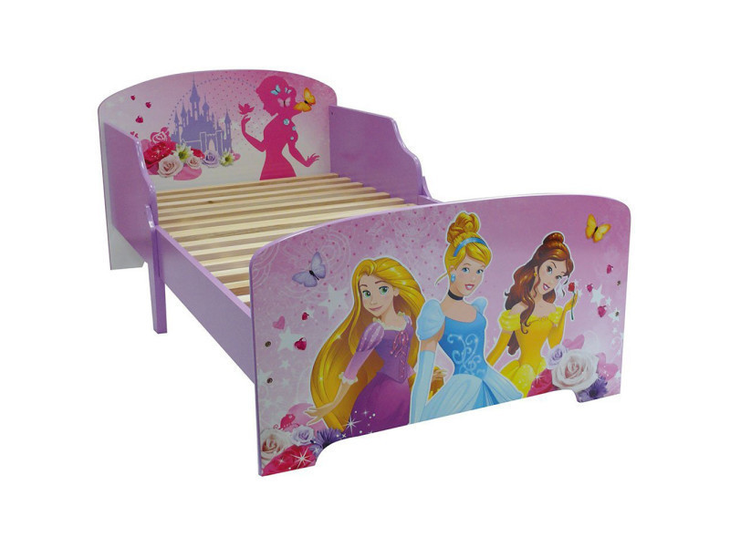 lit enfant princesse disney fleurs vente de chambre compl te conforama. Black Bedroom Furniture Sets. Home Design Ideas