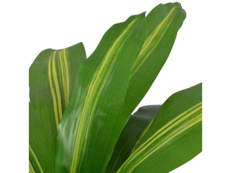 Icaverne - fleurs et plantes artificielles gamme plante artificielle avec pot dracaena 90 cm vert