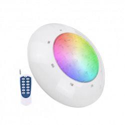 Spot étanche rgb + blanc avec télécommande pour piscine