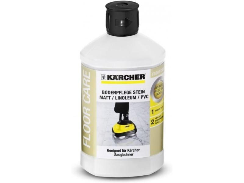 Produit d'entretien des sols (1l) pour pierre mat / linolénum / pvc pour aspiro-cireuse fp 303 kärcher