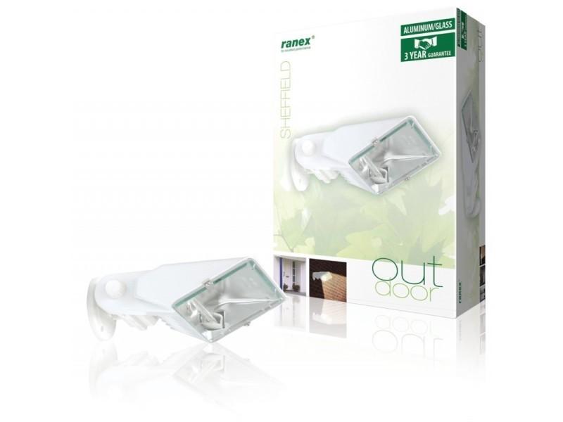 Halogène lumière extérieure blanche vente de applique conforama