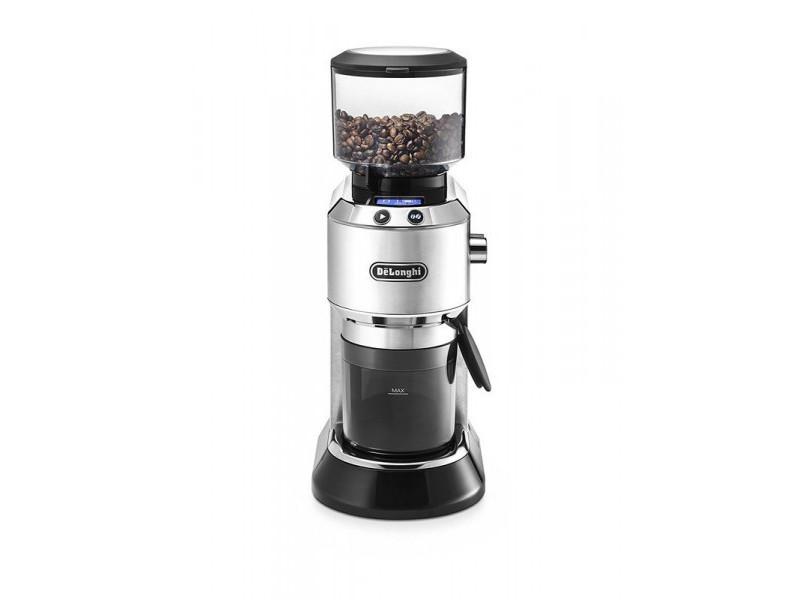 Delonghi moulin à café 350g / 150w - noir/inox kg521m