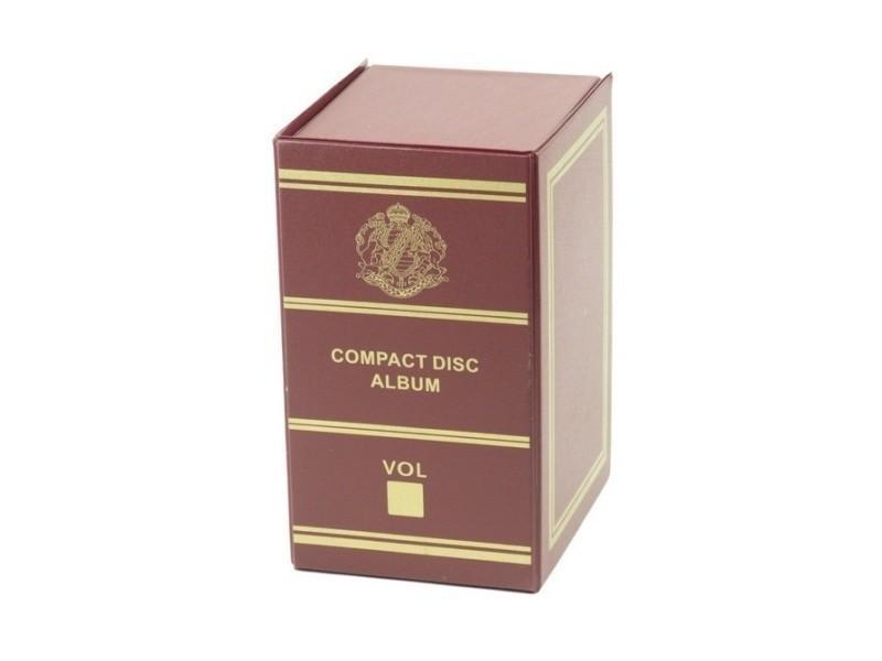 Range Cd Dvd Style Boite De Rangement Pour Cd Bordeaux Vente De Autoradio Et Accessoires Conforama