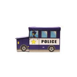 Coffre de rangement camion de police
