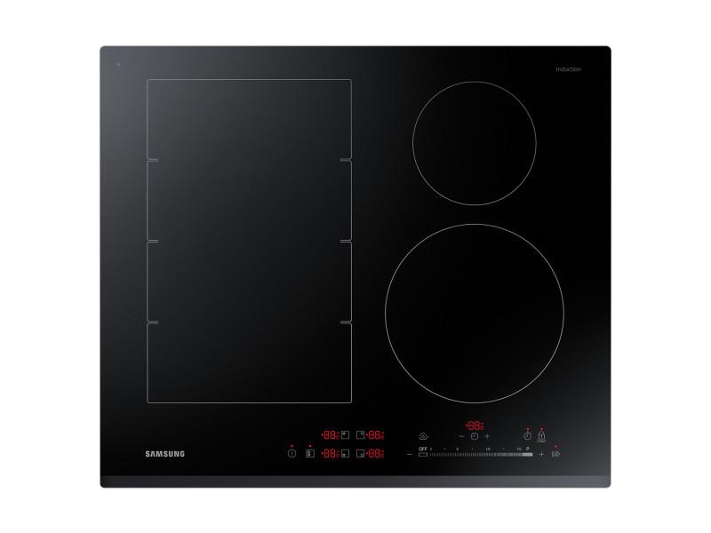Samsung nz64k7757bk noir intégré (placement) plaque avec zone à induction 4 zone(s)