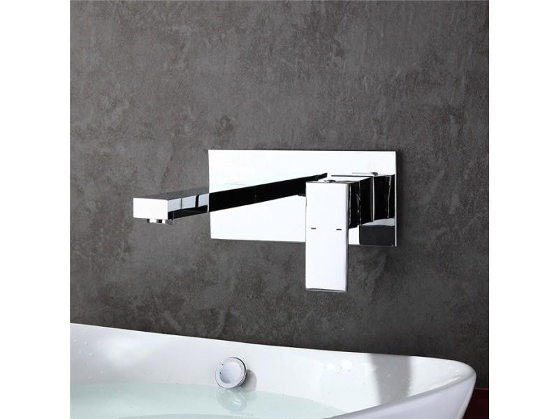 Robinet salle de bain robinet lavabo mitigeur pour baignoire mural ...