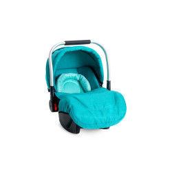 Siège auto bébé « cosy » groupe 0+ delta (0-13kg) bleu turquoise