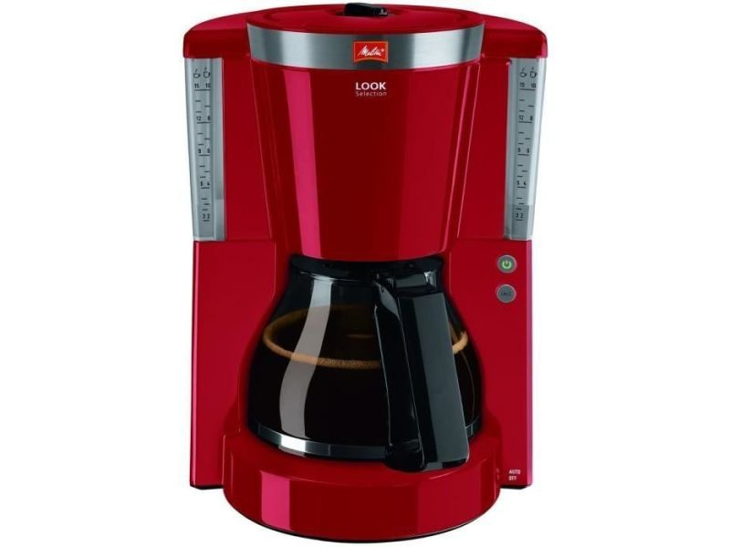 Melitta 1011-17 cafetiere filtre look iv selection - rouge MEL4006508214235