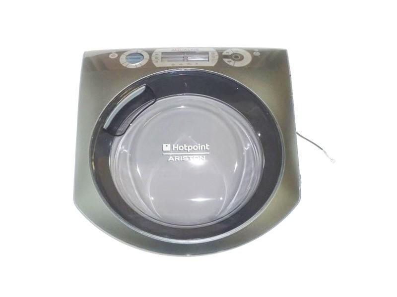 Hublot complet aqdd pra72 eu ha silver pour lave linge ariston - c00290563