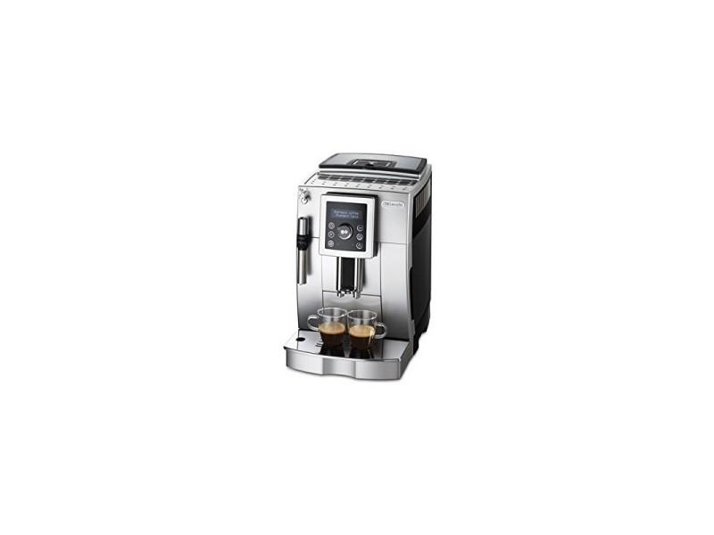 Delonghi ecam 23420 sb cafetière automatique à cappuccino avec buse vapeur cappuccino gris/noir