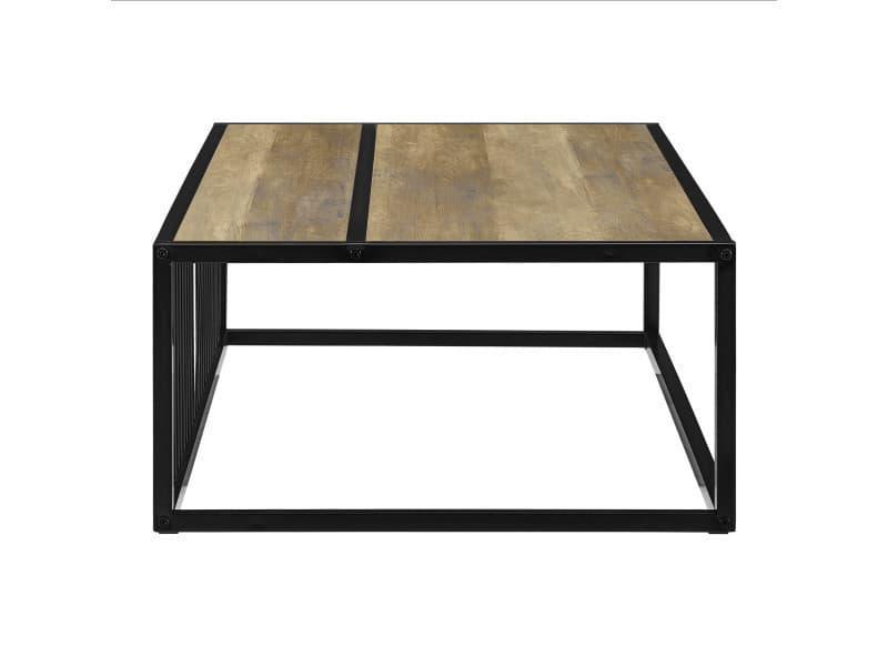En Casa Table Basse Moderne Plateau Mdf Pieds De Table En
