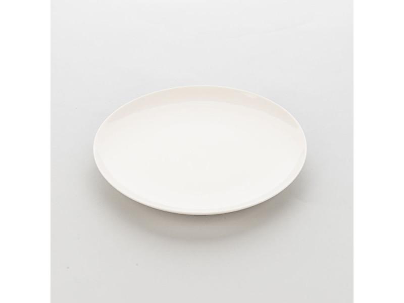 Assiette ronde en porcelaine ecru liguria ø 190 à 310 mm - lot de 6 - stalgast - 19 cm porcelaine 310 (ø) mm