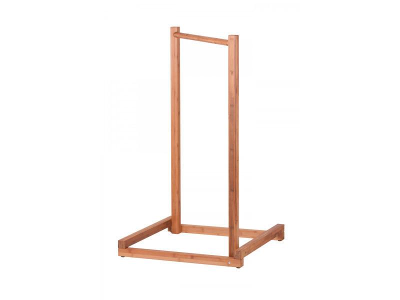 Support hamac bébé yokiko en bambou, dim : 65 x 65 x 110 cm -pegane-