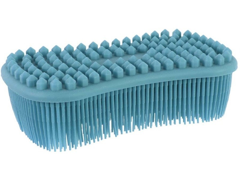 Brosse éponge flexible en silicone