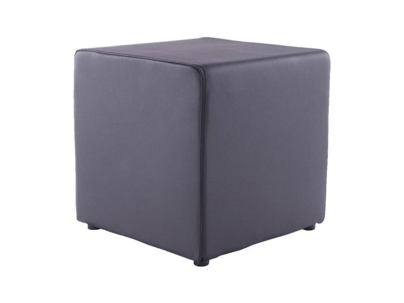 kokoon design pouf repose pieds rubik noir vente de. Black Bedroom Furniture Sets. Home Design Ideas