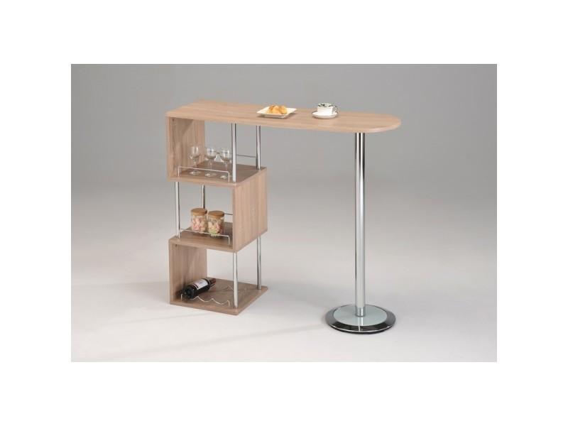 table haute de bar mdf mange debout lina vente de meubletmoi conforama. Black Bedroom Furniture Sets. Home Design Ideas