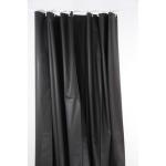 Rideau de douche Eva - 180 x 200 cm - Noir