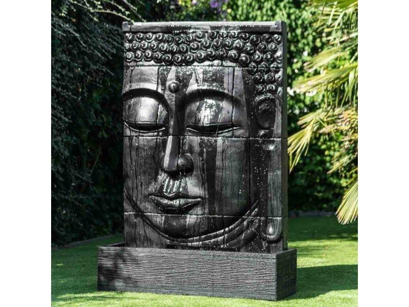 Fontaine Exterieur Bouddha grande fontaine extérieur mur d'eau visage de bouddha 1 m 80 21053