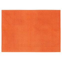 Tapis de bain 50x70 cm pure orange butane 700 g/m2