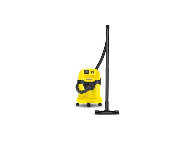 Kärcher aspirateur eau-poussiere wd 3 p - cuve polyprene 17l - prise pour outil et fonction soufflerie 16298820