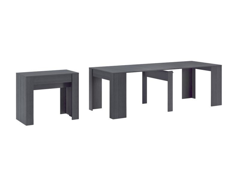 Home innovation table console extensible rectangulaire - Table salle a manger extensible conforama ...